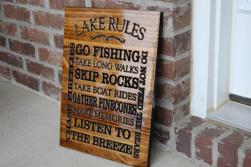 Woodworking By LPI - Lake Rules