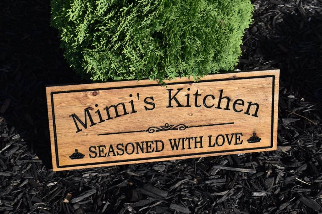 Woodworking By LPI Kitchen Sign