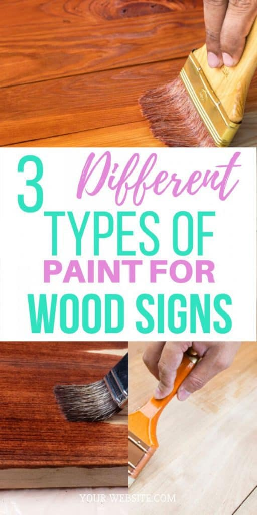 Woodworking By LPI 3 different types of paint for wood signs