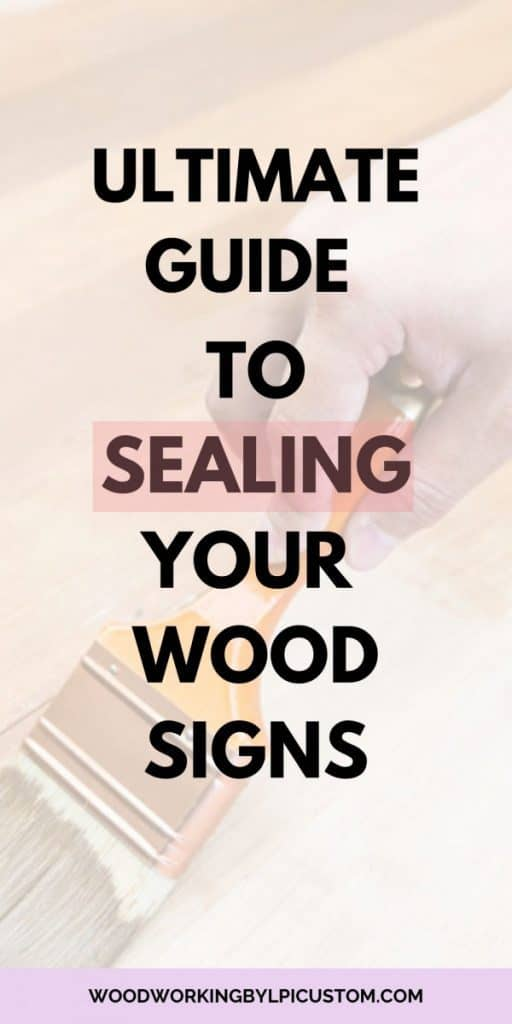 Woodworking By LPI Sealing Wood Signs
