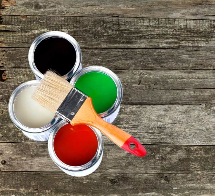 Woodworking By LPI Paint Cans