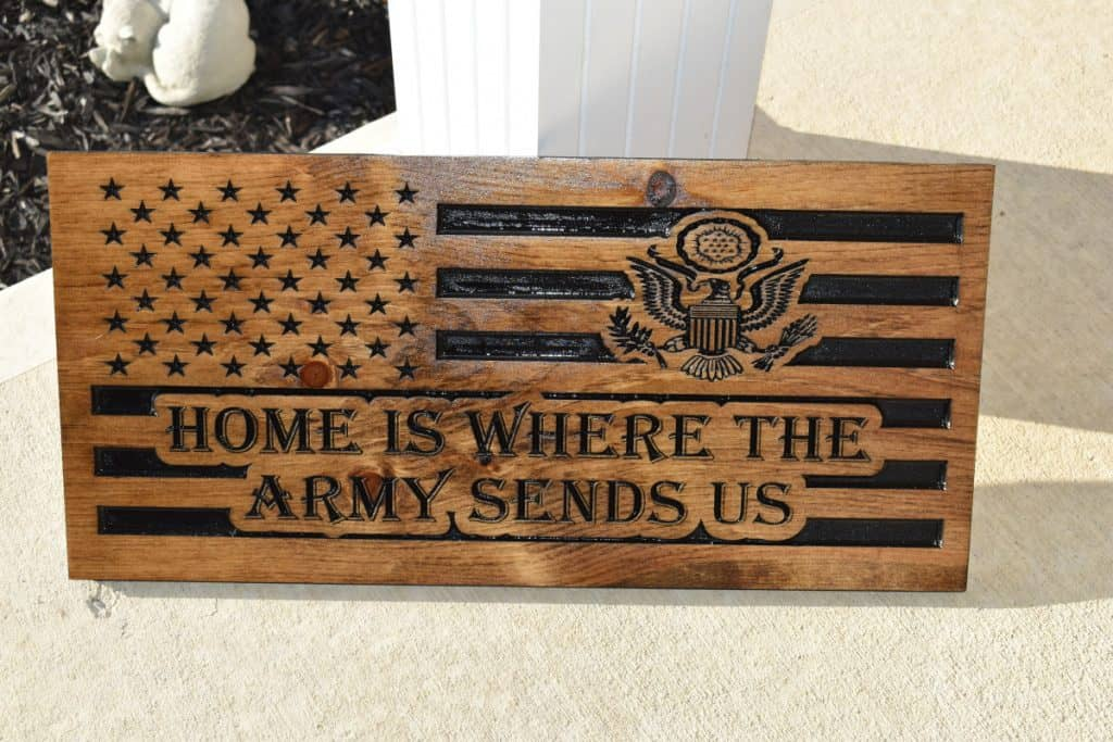 Woodworking By LPI - Flag Army Home