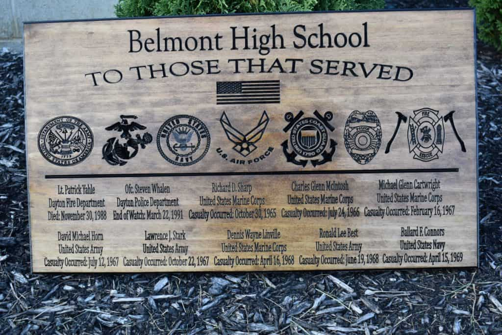 Woodworking By LPI - Custom Service Memorial
