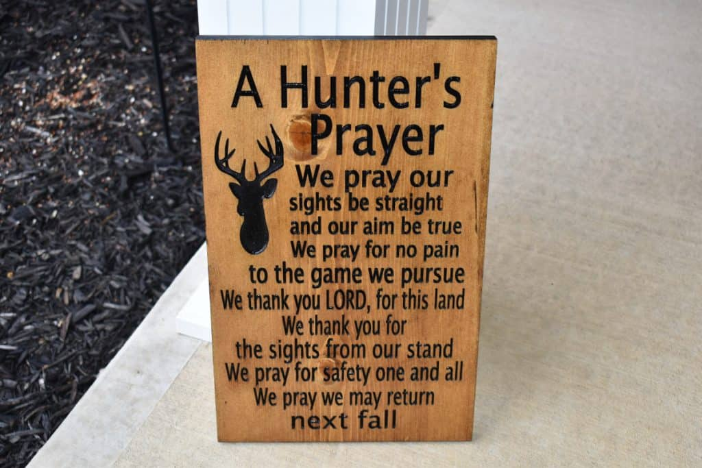 Woodworking By LPI - Hunters Prayer