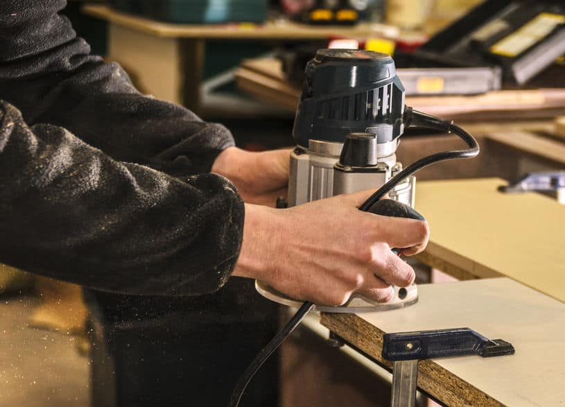 Woodworking By LPI Router Close