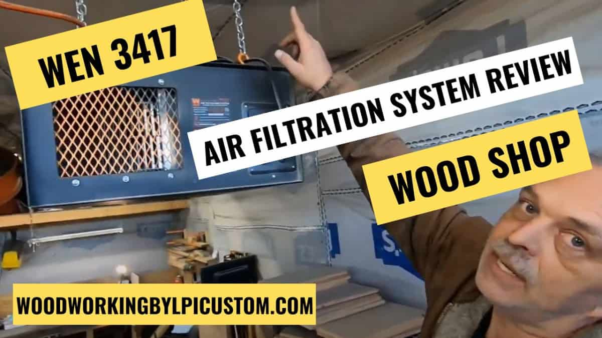 Woodworking By LPI - WEN 3417 Air Filtration System