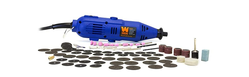 Woodworking By LPI - WEN Variable Speed Rotary Took Kit