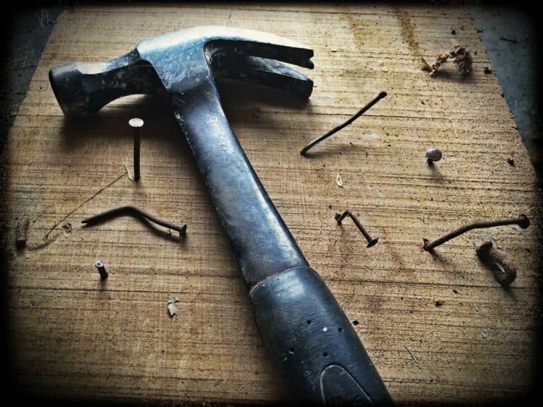 How Far Should A Nail Go Into Wood